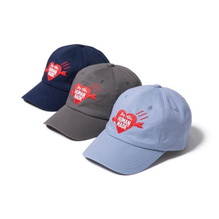 "【Hills select】HUMAN MADE ""TWILL CAP #1"" 愛心 -HM18GD002 三色老帽"
