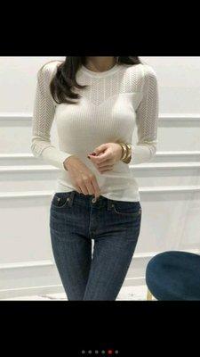正韓東大門冬天預購款都會女子合身長袖針...