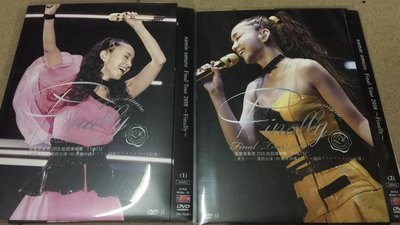 環球百貨 安室奈美惠 namie amuro Final Tour 2018~Finally~1-2 5枚組 DVD