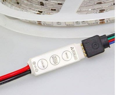 ◇光速LED精品◇led燈 RGB七彩燈 迷你控制器 rgb燈 多功能模式調光器12v