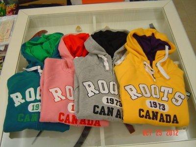 ROOTS 獨家限定款 獨家限量女款雙色連帽外套 黃/灰/藍/粉紅 (全新/現貨)  特價:3580元