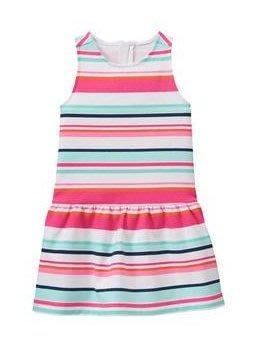 賠錢賣出---全新正品---美國 JANIE AND JACK   條紋洋裝--- 7Y