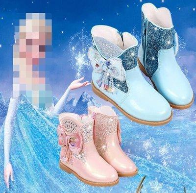 短靴 真皮女童馬丁靴 英倫風小公主短靴 新款韓版兒童靴子 單靴 中大童26-37碼—莎芭