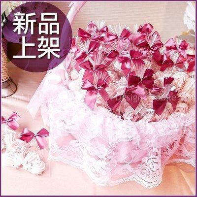[心心相愛]2顆入心型馬林糖X50份+大提籃X1個-幸福朵朵婚禮小物.擺桌禮.情人節禮物.送好姊妹伴娘禮.生日分享
