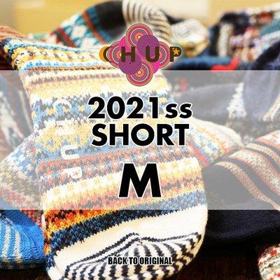 BTO 日本【CHUP】M號 2021春夏中筒襪 Hand Linking 傳統製法民族風精品襪