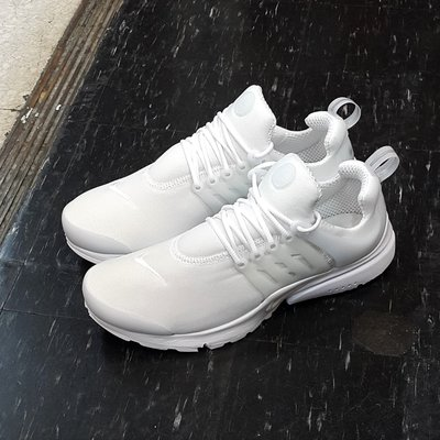 NIKE AIR PRESTO ESSENTIAL 魚骨鞋 白色 全白 棉布 慢跑鞋 8折 848187-100 台北市