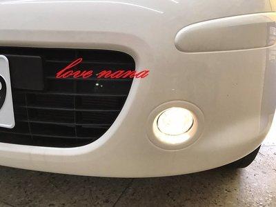 [[娜娜汽車]] 日產 NISSAN new march 專用 霧燈總成 含線組開關