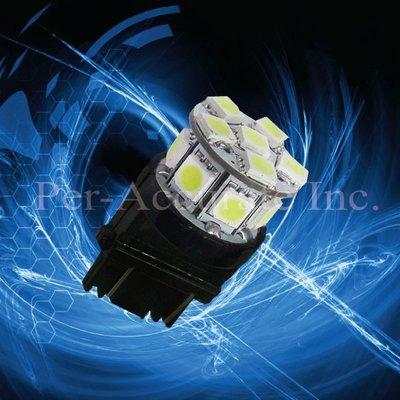 【PA LED】3157 美規 13晶 39晶體 SMD LED 煞車燈 方向燈 倒車燈 酷炫 冰藍色