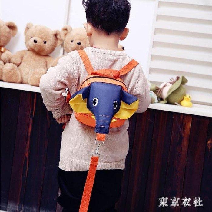 新款兒童雙肩包卡通可愛寶寶背包百搭時尚潮流防走失書包 QQ9342