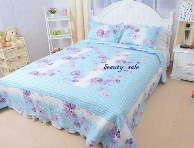 蘭桂坊    全棉   絎縫拼布被  床罩    雙人4件組(2用被套)