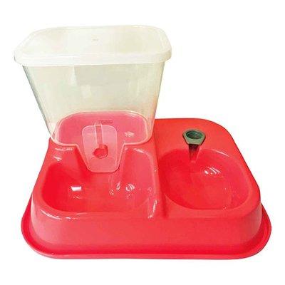 ☆寵物王子☆ GY寵物自動飲水餵食器 紅/粉/米/黃/綠/藍 六款均一價