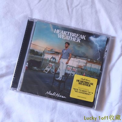 Lucky 1of1收藏現貨 Niall Horan Heartbreak Weather CD