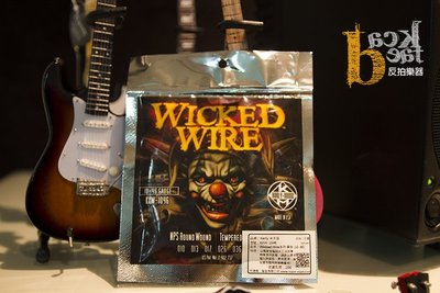 [ 反拍樂器 ] Kerly 冰火弦 10-46 電吉他弦 Wicked Wire KXW-1046 鎳弦