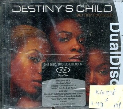 *真音樂* DESTINY'S CHILD / DESTINY FULFILLED 二手 K10778 (殼破) (下標賣)