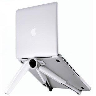 筆記本支架便攜式電腦支架散熱器懶人保護頸椎桌面比目魚