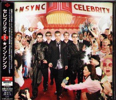 K - N Sync - Celebrity  - 日版 NSYNC +4BONUS