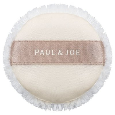 【Q寶媽】PAUL&JOE PAUL & JOE 糖瓷輕盈柔霧蜜粉餅 (專用粉撲)