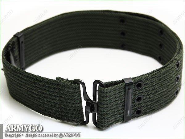 【ARMYGO】國軍舊式T字 S腰帶