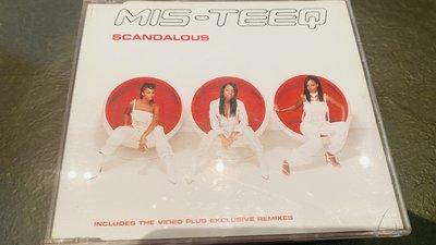 CD﹣﹣MIS-TEEQ SCANDALOUS / 單曲