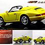 【保時捷 系列精品】1/43 Porsche 964 Speedster 1993 保時捷 超級敞篷跑車~ 全新黃色,現貨特惠!! ~
