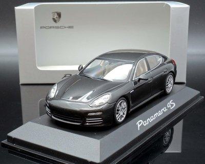 【MASH】現貨瘋狂價 原廠 Minichamps 1/43 Porsche Panamera 4S 2014 grey