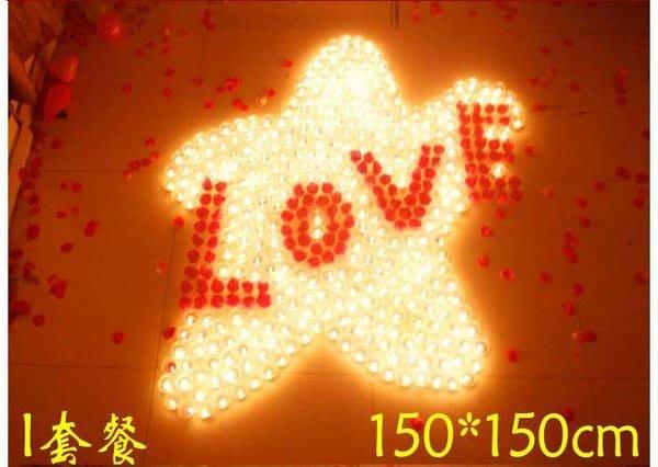☆創意小物店☆LOVE套餐NO:20 /排字蠟燭/求婚蠟燭/場地佈置/情人節禮物 浪漫表白必備