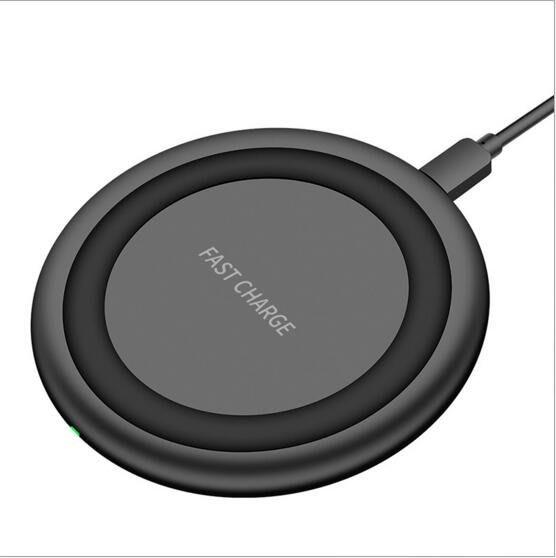 防滑散熱qi無線充底座 wireless charger快速飛碟無線充電器9505