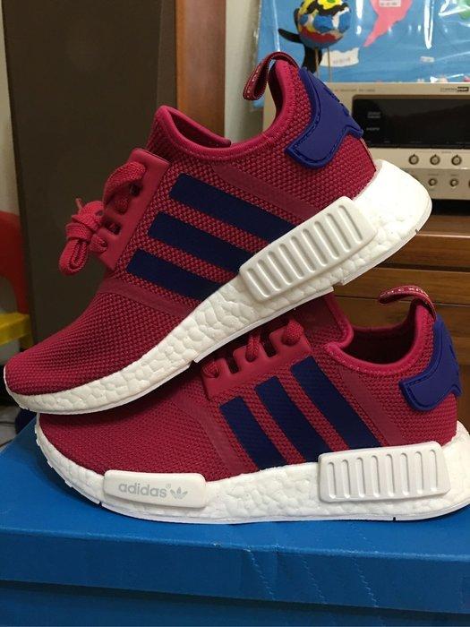 check out 79f80 b116b adidas NMD R1J 紅色 女鞋 慢跑鞋 現貨