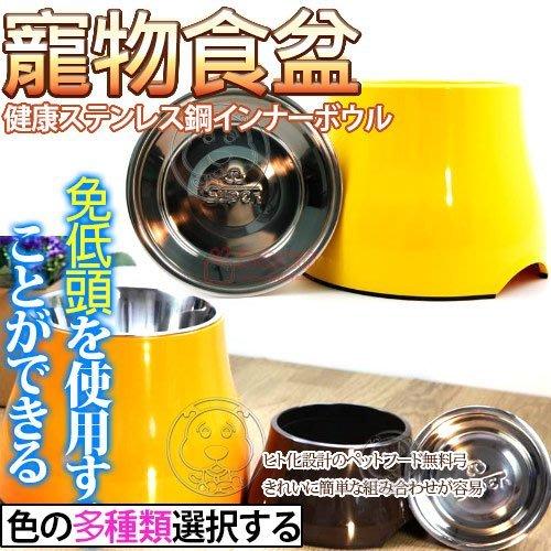 【🐱🐶培菓寵物48H出貨🐰🐹】美國》SUPER休普高腳不鏽鋼兩用狗碗S號直徑16cm 特價329元