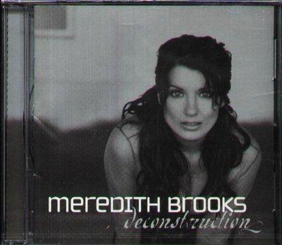 八八 - Meredith Brooks - Deconstruction - NEW