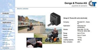 瑞士 Genge & Thoma 旋轉電位器 Rotary potentiometer