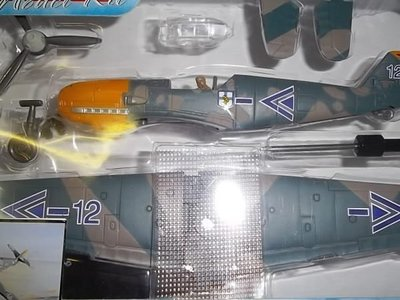 {車界模王}1:48強化塑膠二次大戰戰鬥機全系列 自行組裝版