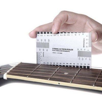 【成功樂器.音響】完美精確 標尺工具STRING ACTION RULER 弦距量卡 適用各種弦樂器