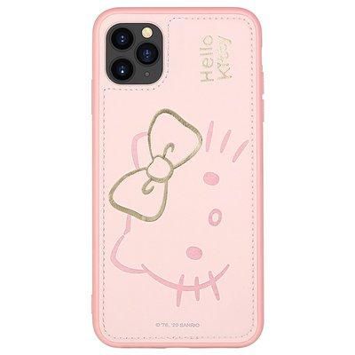 【正品】o Kitty iPhone pro max手機殼蘋果Promax保護套 防摔全包硅膠卡通保護殼女款 大臉萌櫻粉