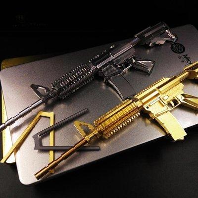 特惠❧金屬模型3D立體拼圖金屬模型仿真卡賓槍拼裝玩具diy創意成人手工禮物男 米米旗艦店