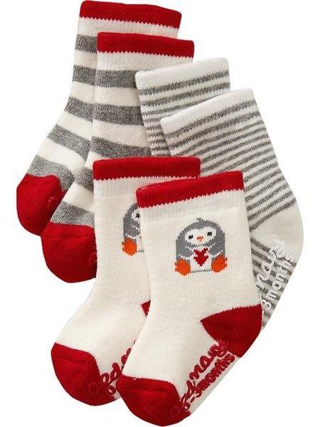 【BJ.GO】美國OLD NAVY 童裝_Sock 3-Packs for Baby 可愛襪子三入組  新品現貨