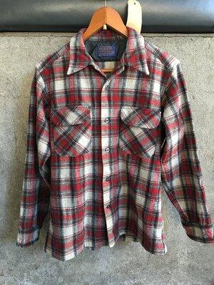60s Pendleton 羊毛襯衫 Size:M Red Wing Carharrt LL Bean Sears
