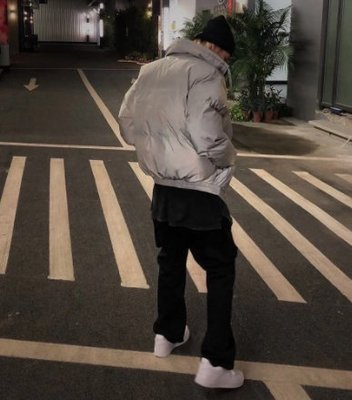 FEAR OF GOD ESSENTIALS Puffer Jacket Silver Reflective