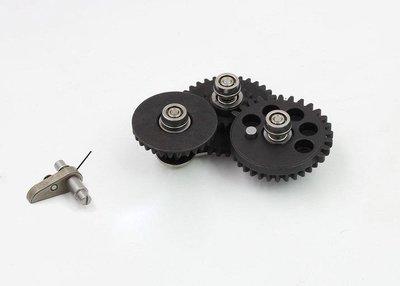 (武莊)MODIFY摩帝2代3代7mm SMOOTH模組化齒輪組(射速型16.32)-MD-GB092303