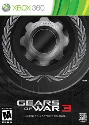 【二手遊戲】XBOX360 XBOX 360 戰爭機器3 gear of war 3 限定版 中文版 台中恐龍電玩