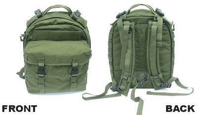 JHS((金和勝 生存遊戲專賣))警星戰術偵搜背包 - Olive Drab B-10C(OD)