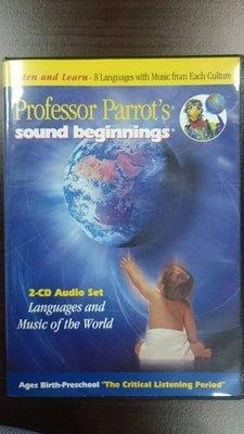 已售出~~胎教 語言胎教音樂 八國語言寶寶Professor Parrot's Sound Beginnings CD