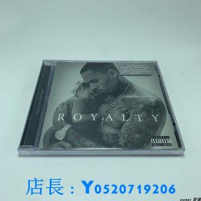 全新 CD 克里斯·布朗 CHRIS BROWN Royalty CD明泰店