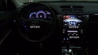 (逸軒自動車)2012 CAMRY HYBRID 冷氣控制面板 開關 方向盤控制鍵改色 LED改色