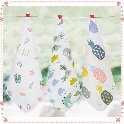 高密度30*30雙層紗布巾 / 純棉紗巾口水巾 / 餵奶巾
