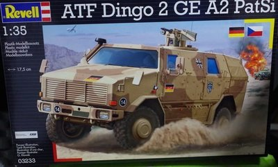 Revell- 03233-1/35-German Army-ATF -Dingo 2 -GE A2 PatSi-M-300