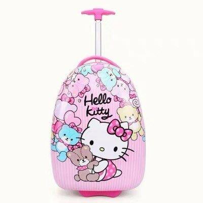 kitty行旅箱 兒童16吋行旅箱 女童行旅箱 男童行李箱 行李箱