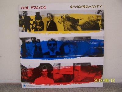 【原版流行LP】1410.The police:Synchronicity專輯(曲目詳照片)