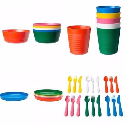 拆售 挑色 IKEA 兒童餐具 彩色 碗 刀叉匙 盤 學習餐具 安全 無毒 無雙酚A 彰化縣