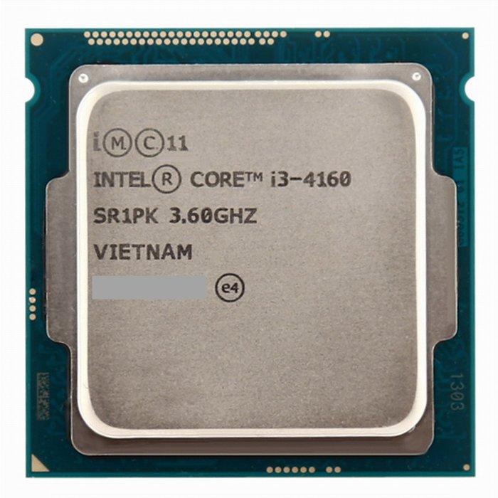 Core i3-4160+微星H81M-P33 V2主機板+DDR3 8G記憶體、整組賣附擋板與風扇《自取價 2199》